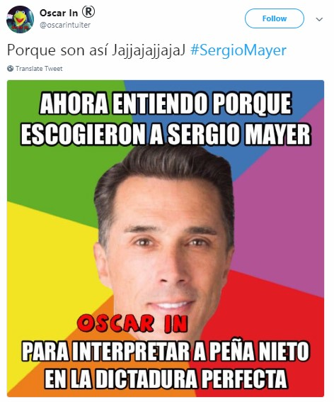 Sergio Mayer PROFECO