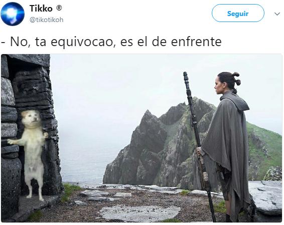 meme Luke Rey Star Wars