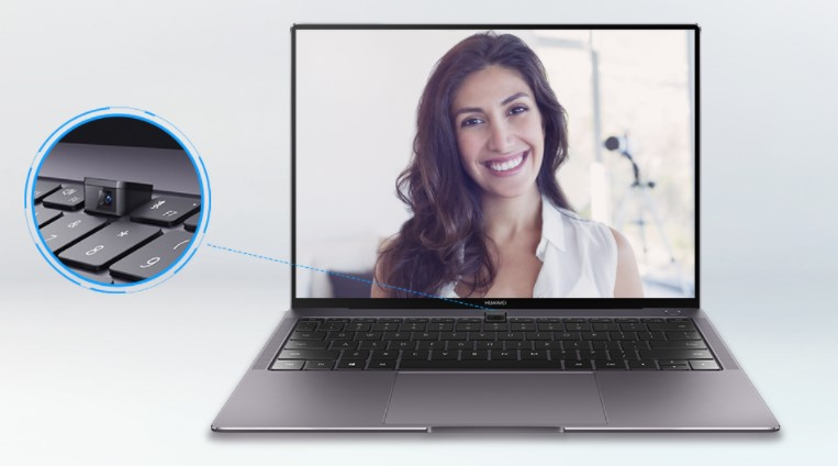 Cámara retrctil MateBook X Pro