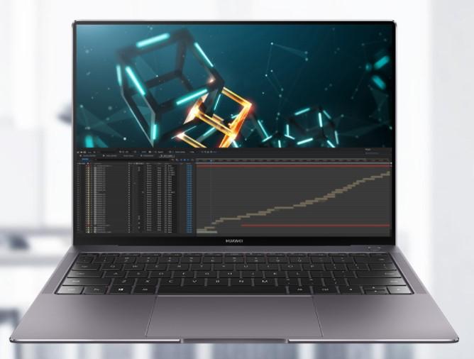 La Matebook X Pro también es poderosa en su rendimiento