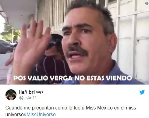 Memes de Miss Universo 2018
