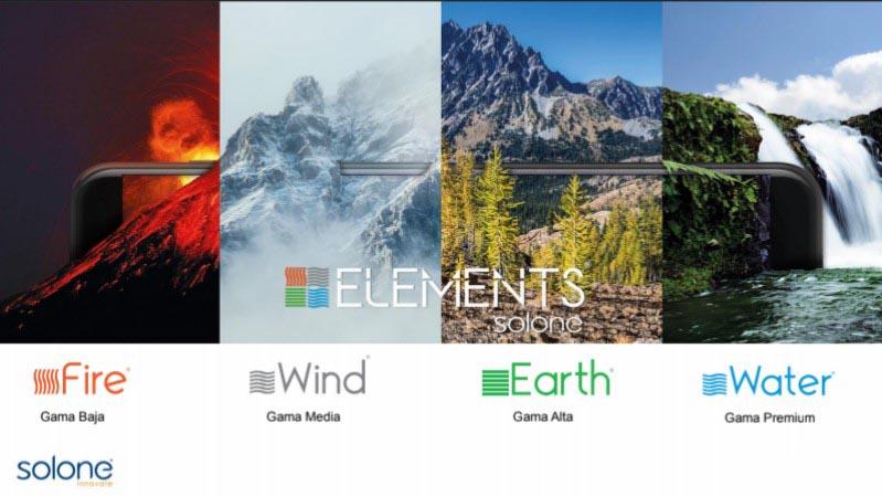 Nueva línea Elements de Solone