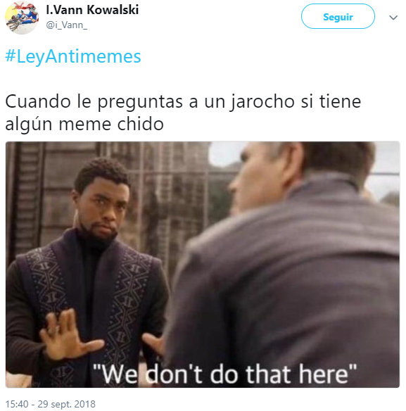 Memes de la Ley Anti-memes