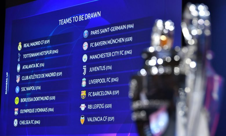 Champions League 2019-2020: octavos de final
