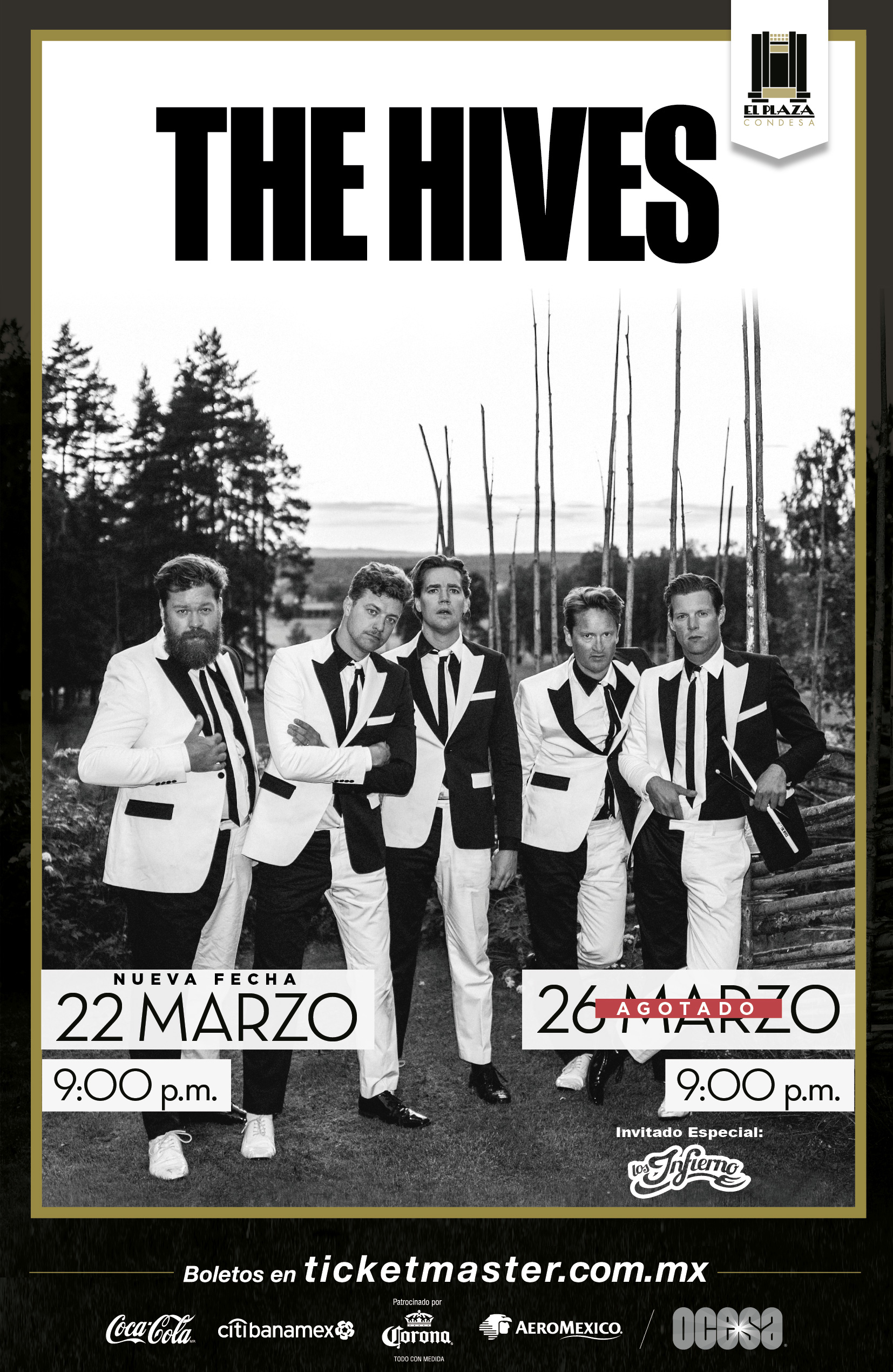 The Hives México 2019