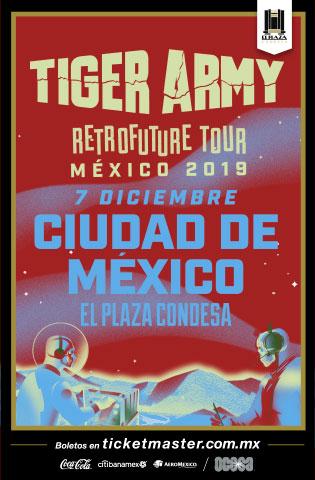 Tiger Army México 2019
