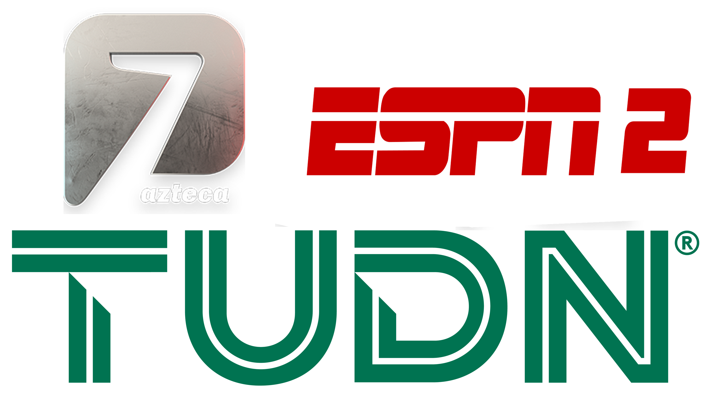 Azteca 7 | ESPN 2 | TUDN