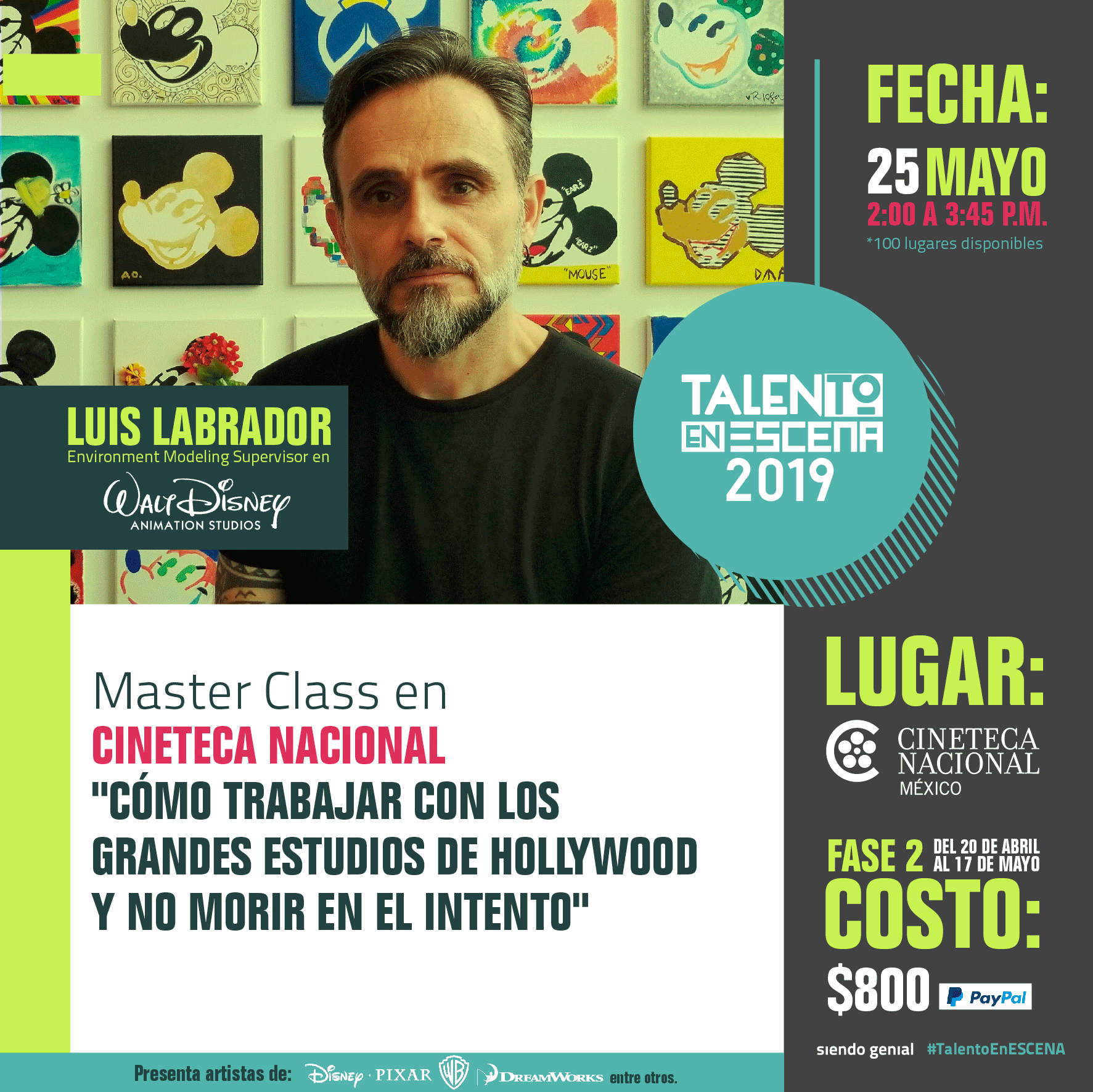 Talento en ESCENA 2019: Luis Labrador
