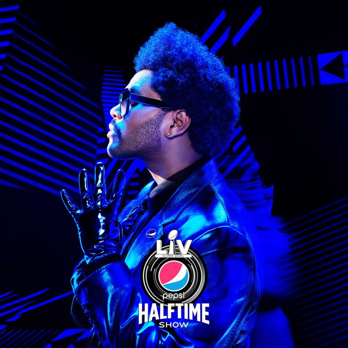 The Weeknd en Super Bowl LV