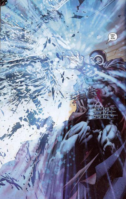 Magneto destruye el esqueleto de Logan