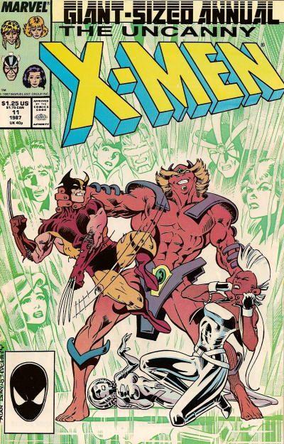 Portada de Uncanny X-Men Vol. 1 Annual #11