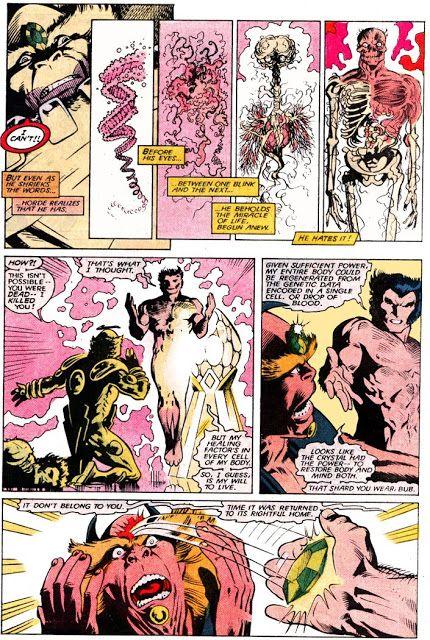 Wolverine se recupera a partir de una gota de sangre