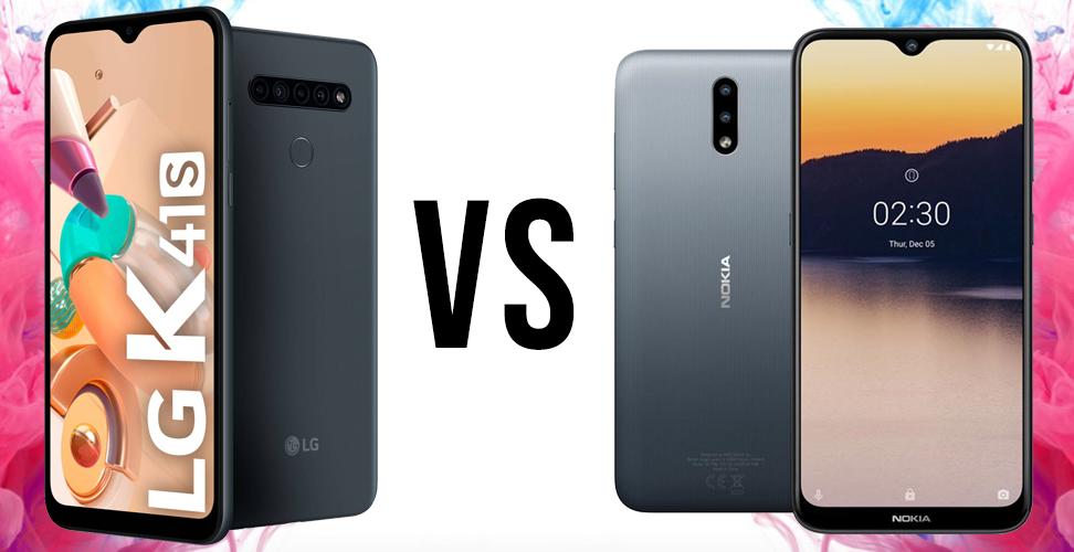 LG K41S vs Nokia 2.3