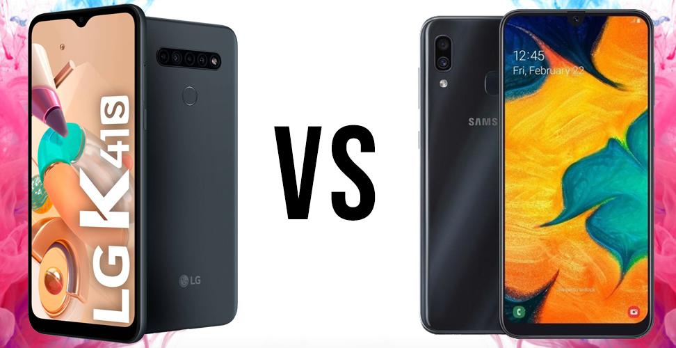 LG K41S vs Samsung Galaxy A30