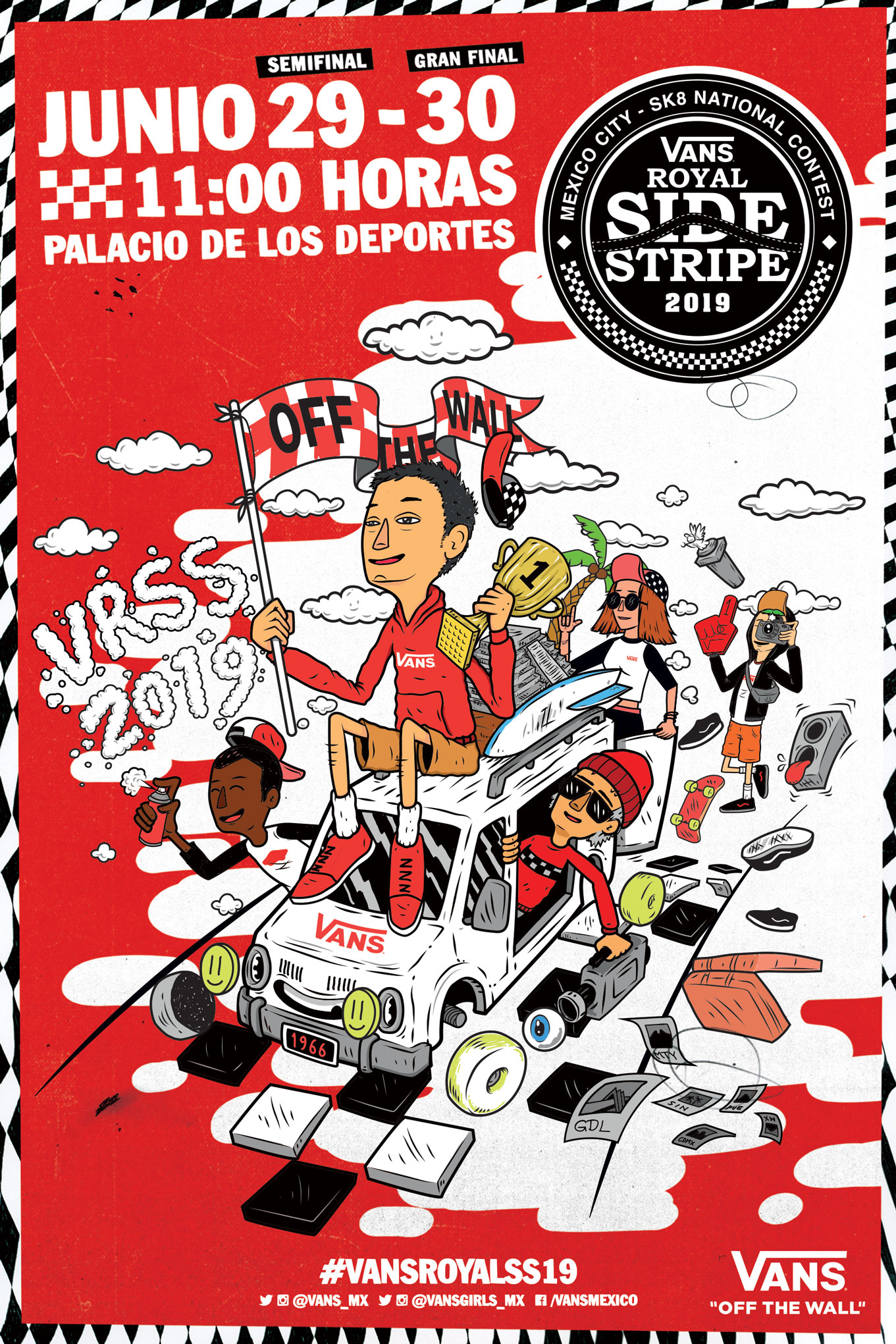 Final del Vans Royal Side Stripe 2019
