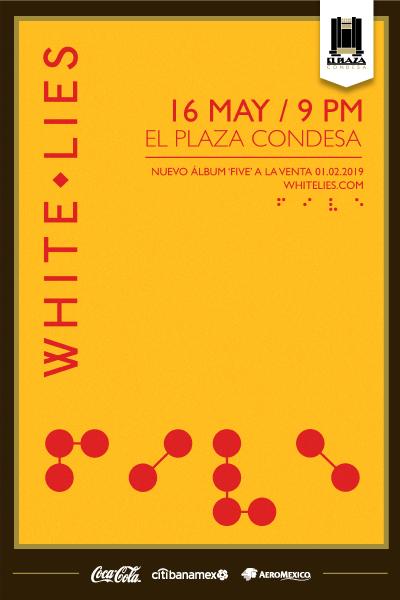 White Lies México 2019