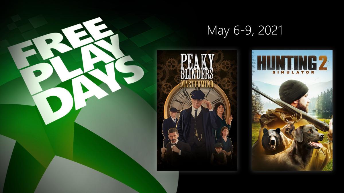 Xbox Días de juego gratis: Peaky Blinders; Mastermind y Hunting Simulator