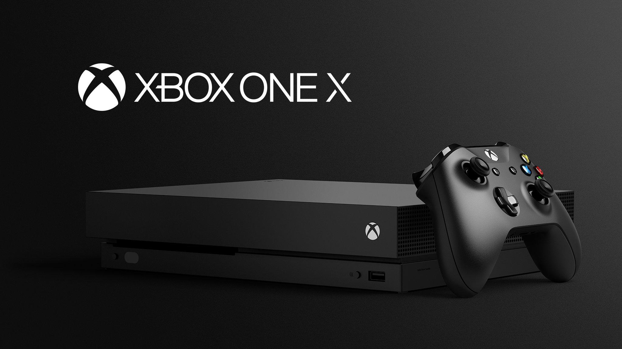 XBox One X ya es #1 en ventas en EU