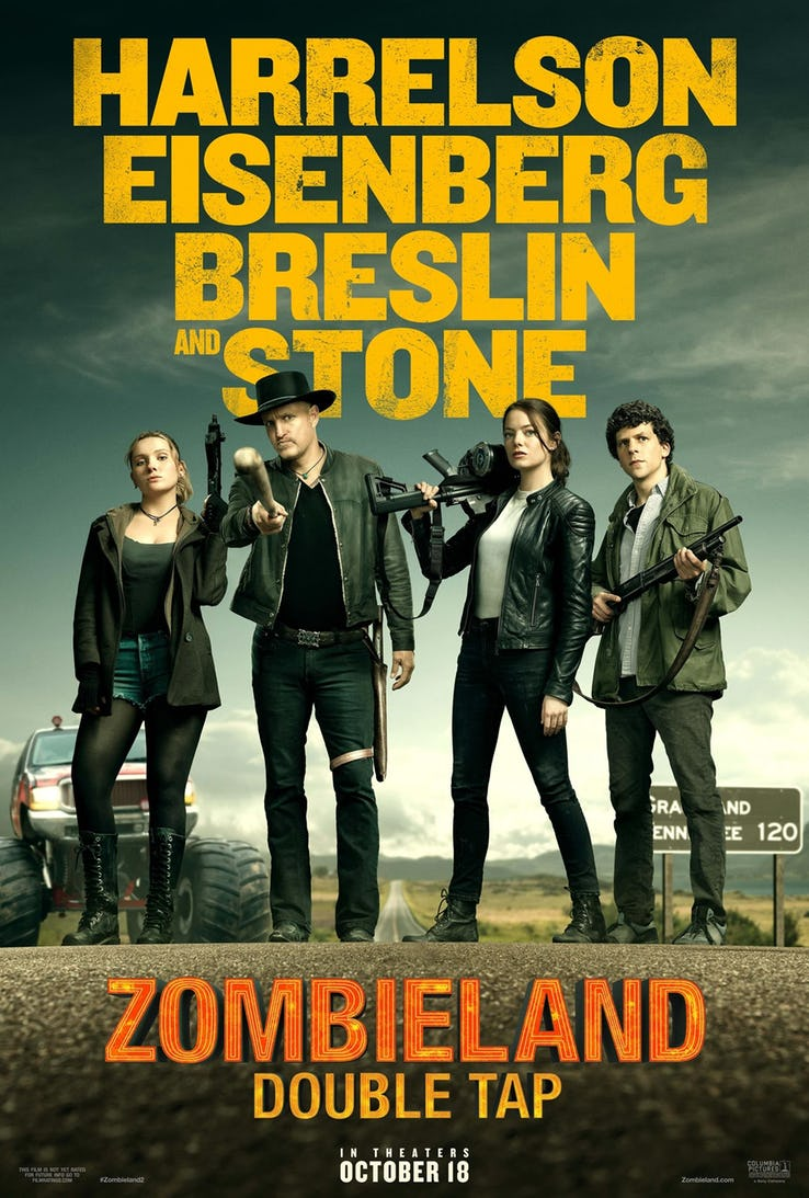 Zombieland: Double Tap Póster