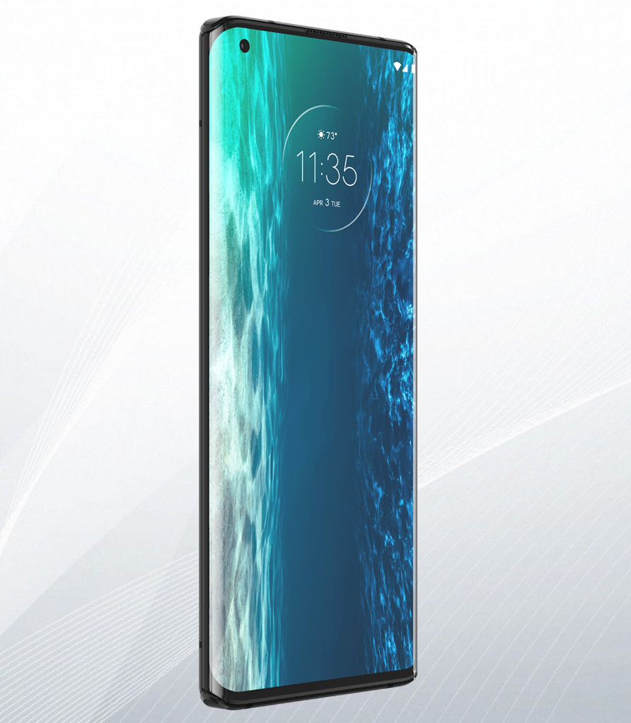 Motorola Edge: pantalla en cascada y potencia al máximo