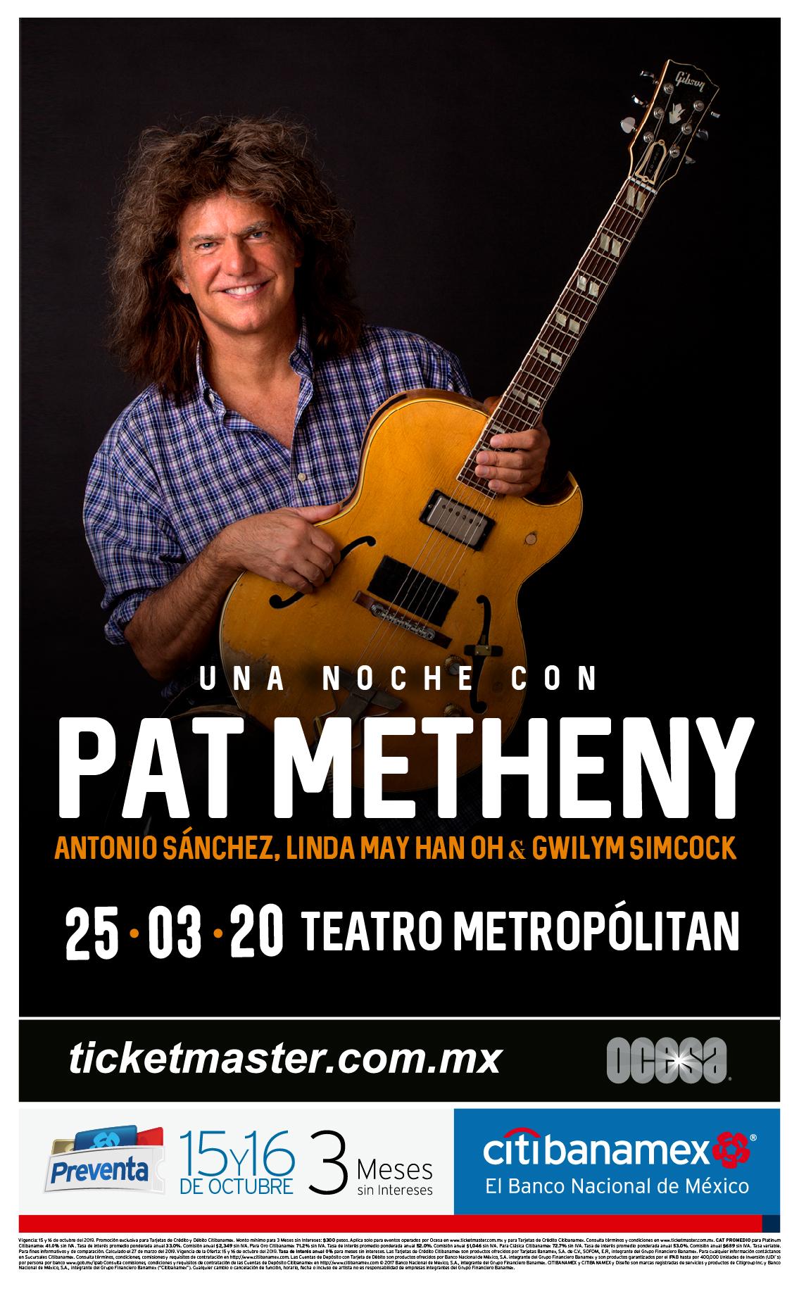Pat Metheny México 2020
