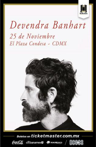 Davendra Banhart México 2019