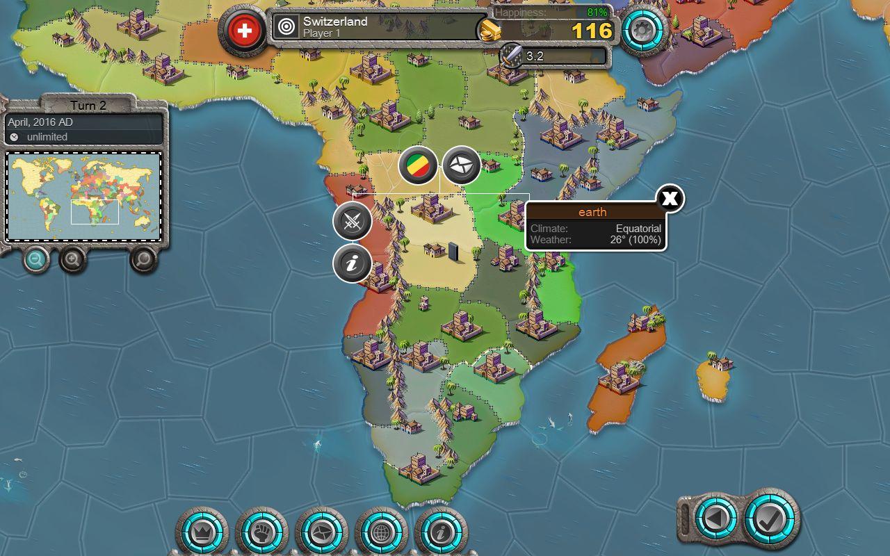 Mapa de Age of Conquest IV