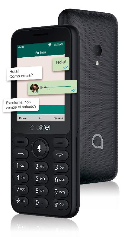 Alcatel 1B y 3078, nuevos teléfonos en México