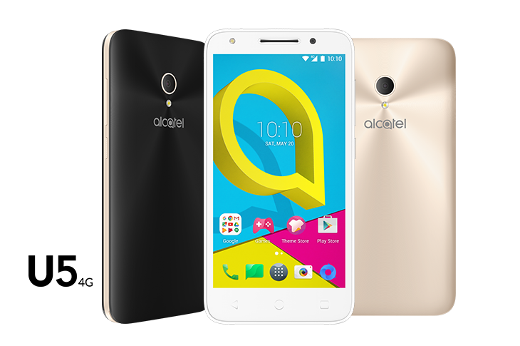 Conoce la familia U de Alcatel: U5 PLUS EDITION, U5 3G y U5 4G