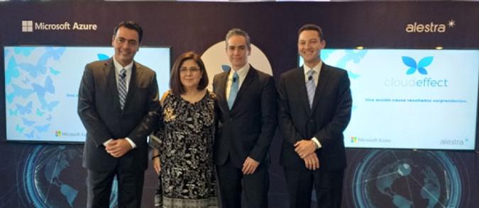 Alestra y Microsofts traen nube híbrida Azure Stack a México