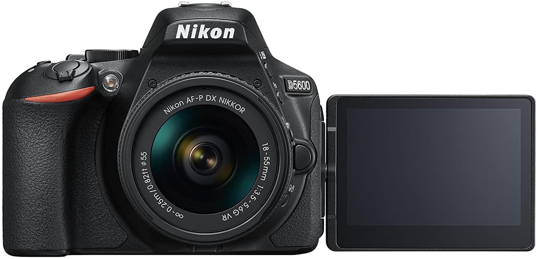 Nikon Reflex D5600 con hasta 30% de descuento en Amazon.