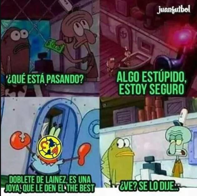 América vs Pachuca memes
