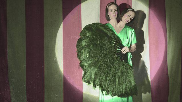 Sarah Paulson en American Horror Story: Freak Show