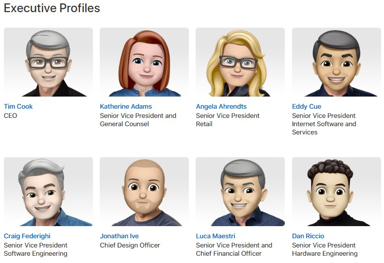 memoji equipo apple