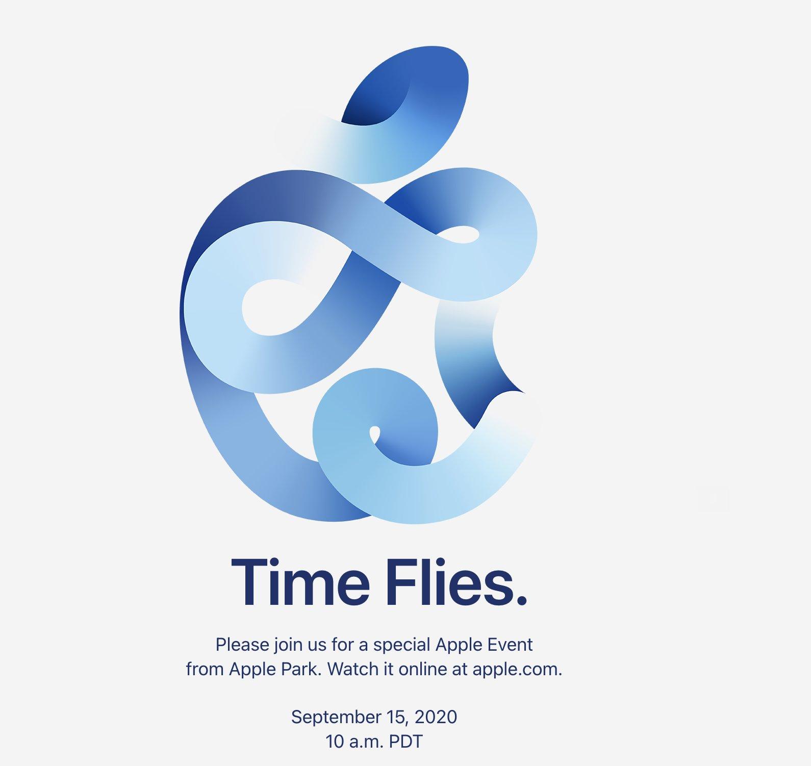 Apple anuncia evento Time Flies |PandaAncha.mx