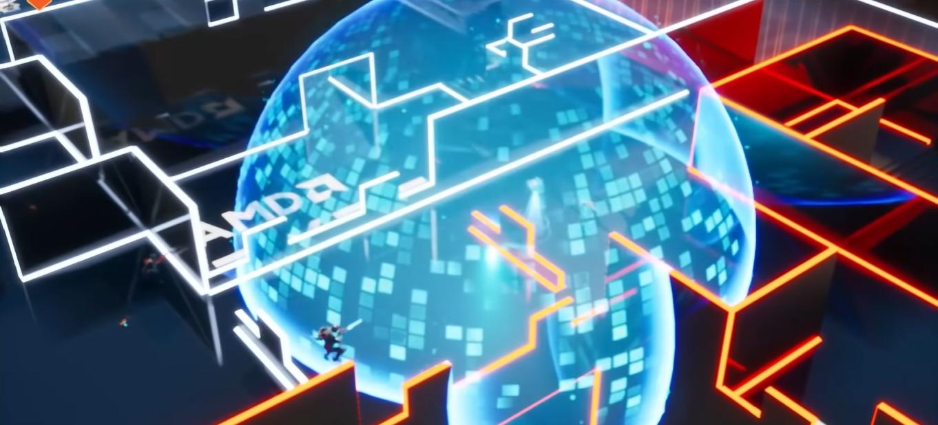 Código para acceder a la Arena de Batalla AMD en Fortnite