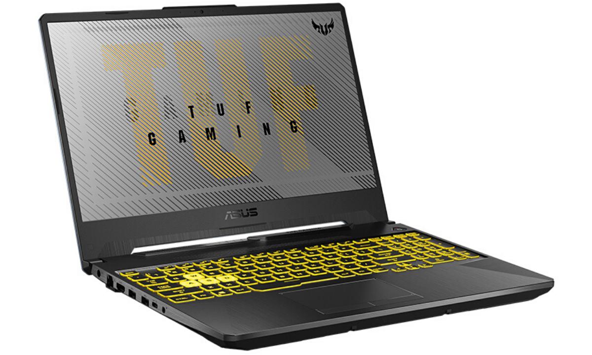 La nueva laptop gamer ASUS TUF A15 FA506IV lleva una pantalla de 15 pulgadas de nivel IPS, con biseles NanoEdge ultradelgados, con una tasa de refresco de 144Hz.