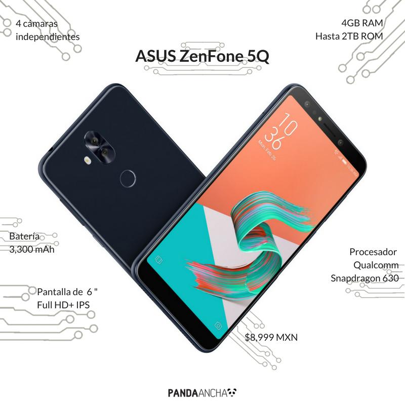 Características de ASUS ZenFone 5Q