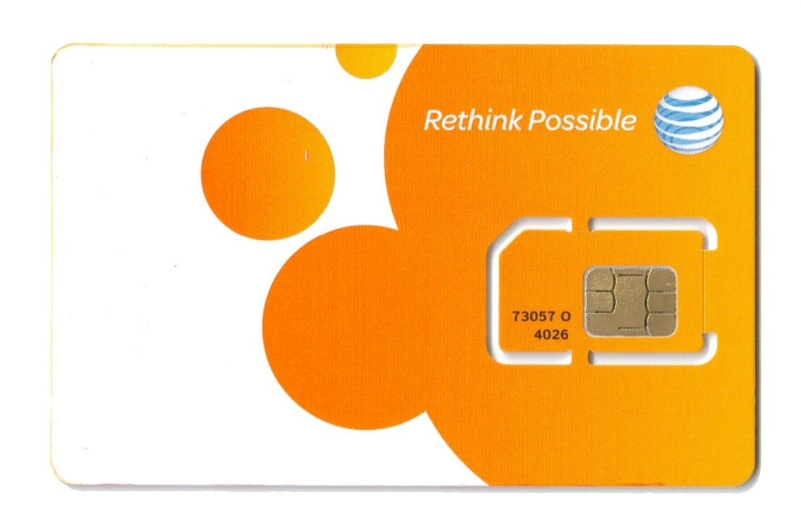 SIM Card de AT&T