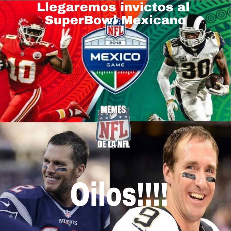 Memes de la semana 9 de la NFL
