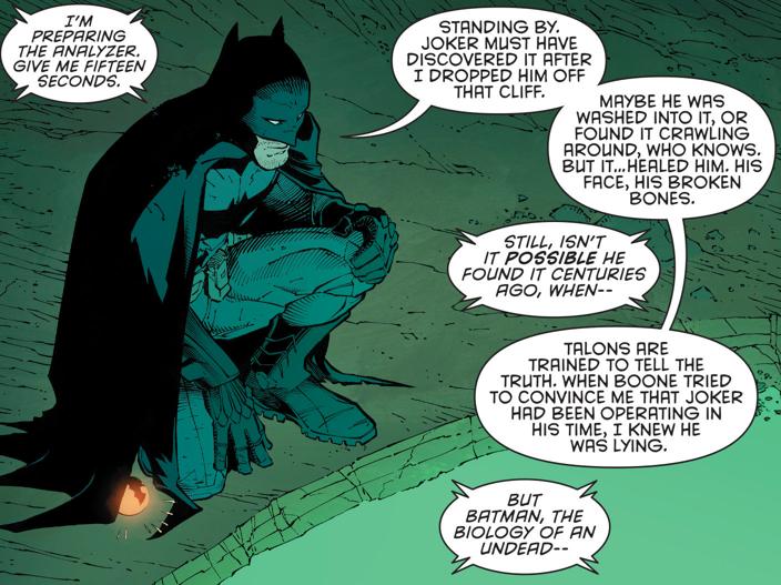 Bruce Wayne y la fuente de dionesium