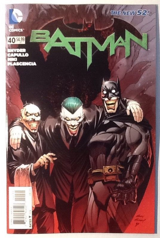 Portada de Batman #40 (Batman Endgame)