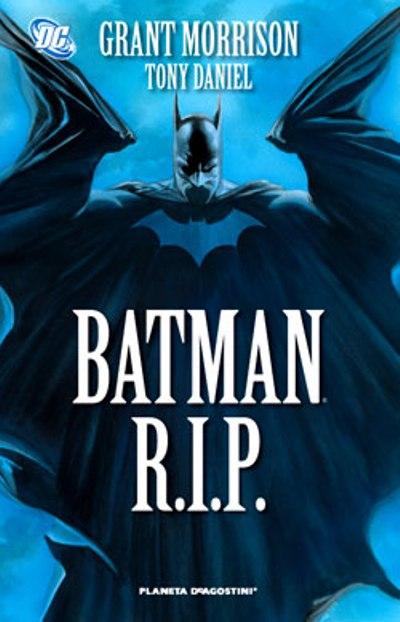 Portada de Batman R.I.P.