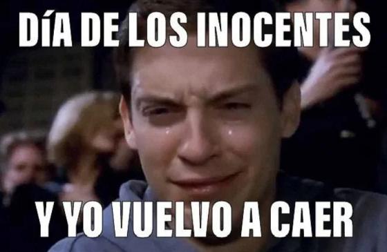 Memes del Día de los Inocentes