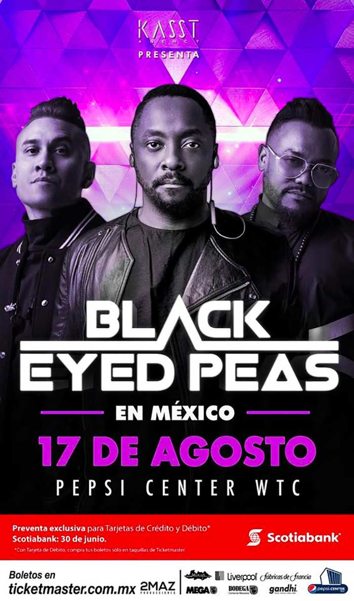 Black Eyes Peas cmdx 2018