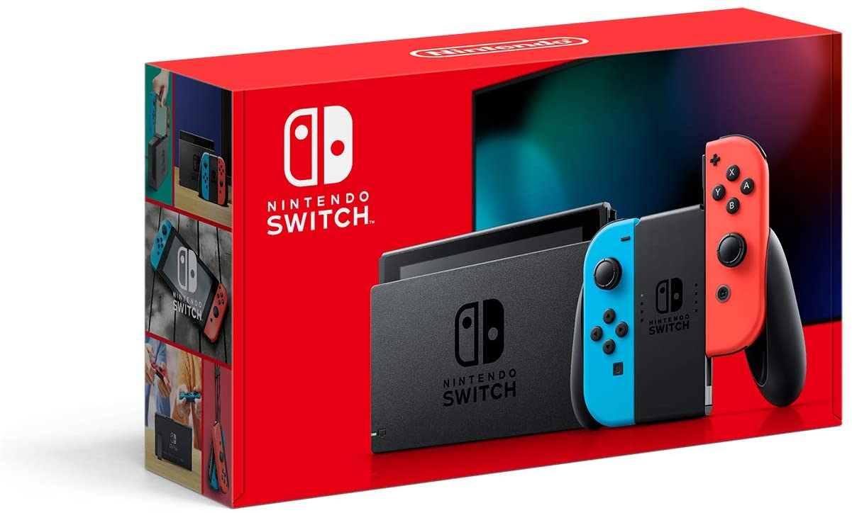 Consola Nintendo Switch Neón de 32 GB con descuento por Black Friday en Amazon