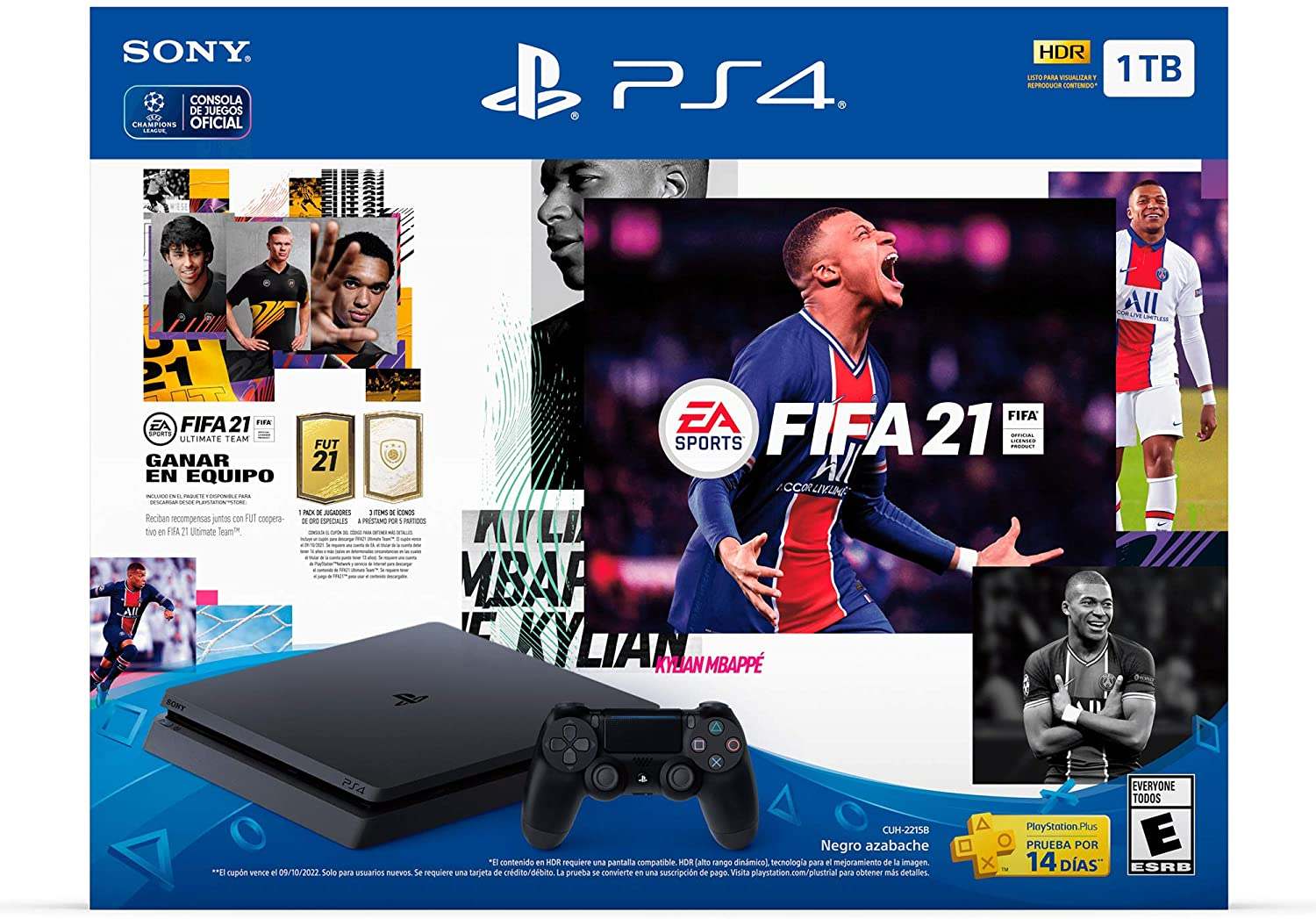 Paquete PS4 + FIFA 21
