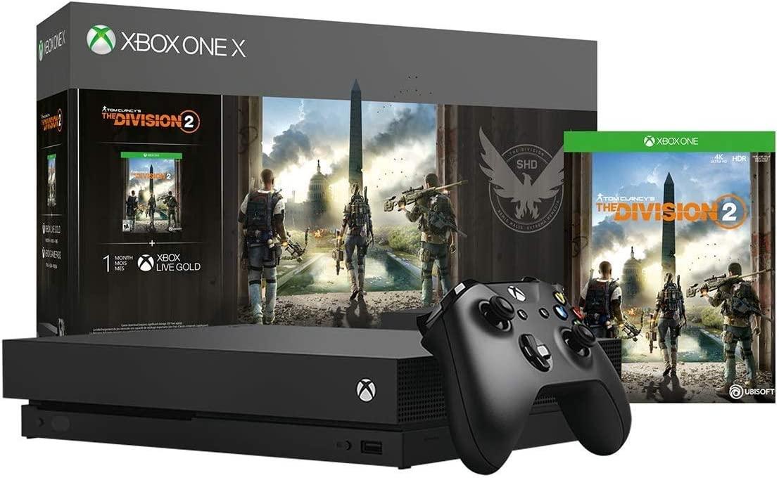 Xbox One X de 1TB + The Division 2