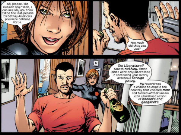 Natasha es la traidora de los Ultimates