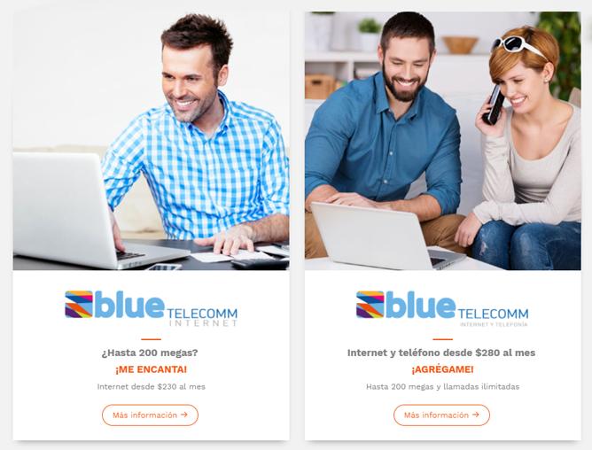 Oferta comercial Blue Telecomm